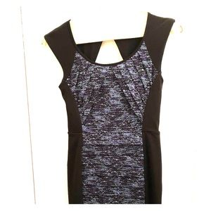 BCBG paneled bodycon Dress
